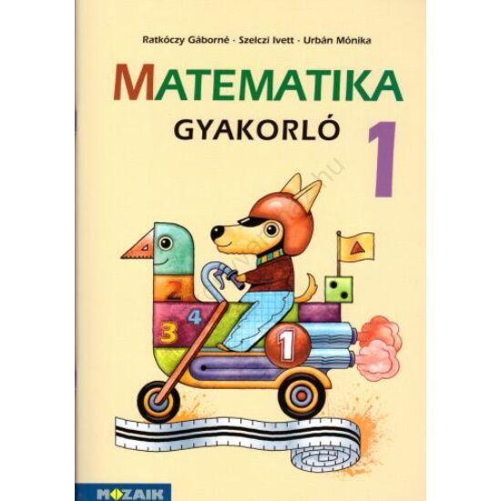 Matematika 1. Gyakorló (MS-1663U)