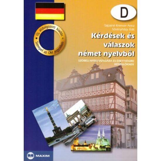 Kérdések és válaszok német nyelvből (MX-102)