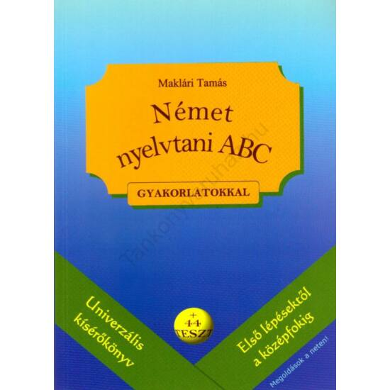 Német nyelvtani ABC