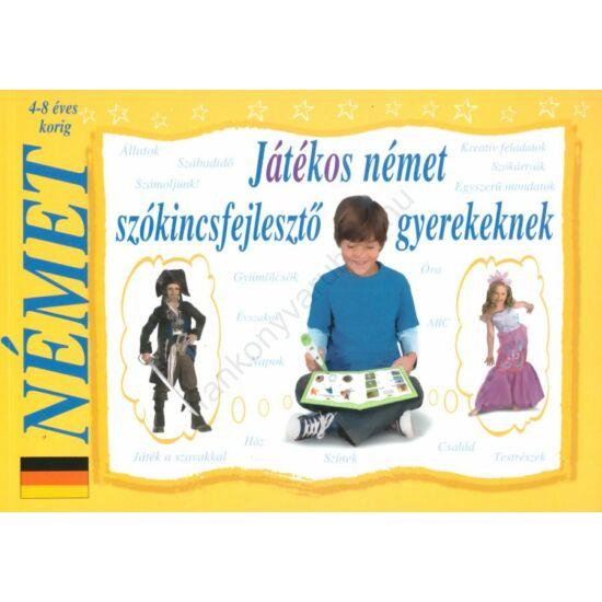 Játékos német szókincsfejlesztő gyerekeknek