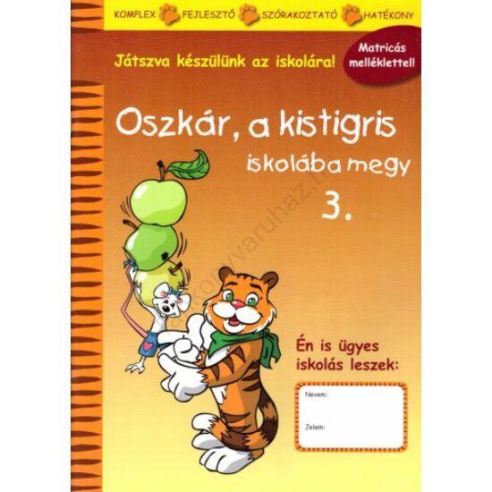 Oszkár, a kistigris iskolába megy 3.