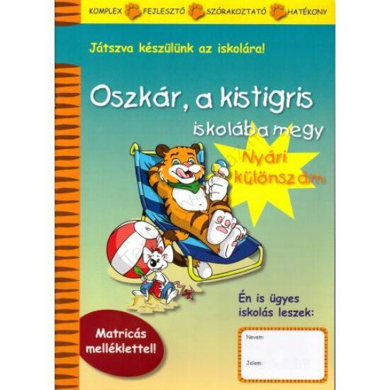 Oszkár, a kistigris iskolába megy - Nyári különszám