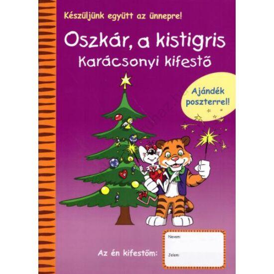 Oszkár, a kistigris - Karácsonyi kifestő