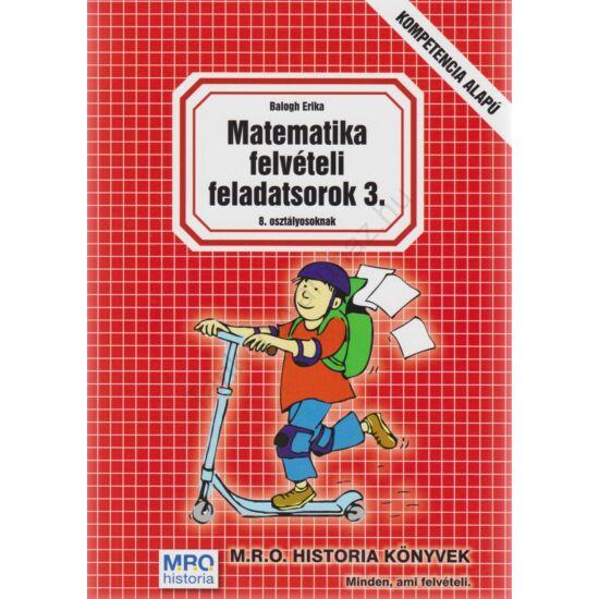 Matematika felvételi feladatsorok 3.