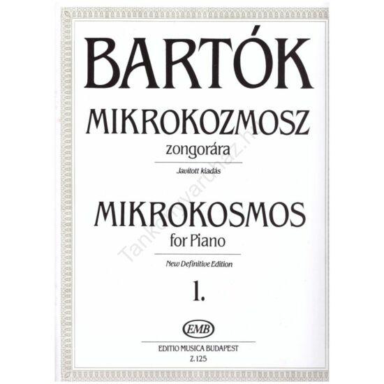 Bartók Béla: Mikrokozmosz zongorára 1.