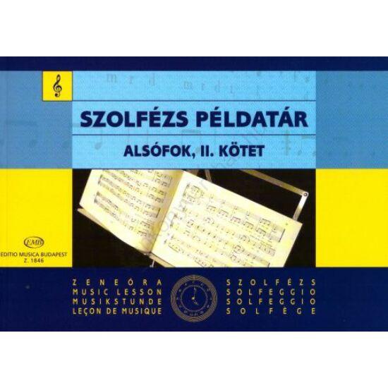 Irsai: Szolfézs példatár alsófok II. kötet
