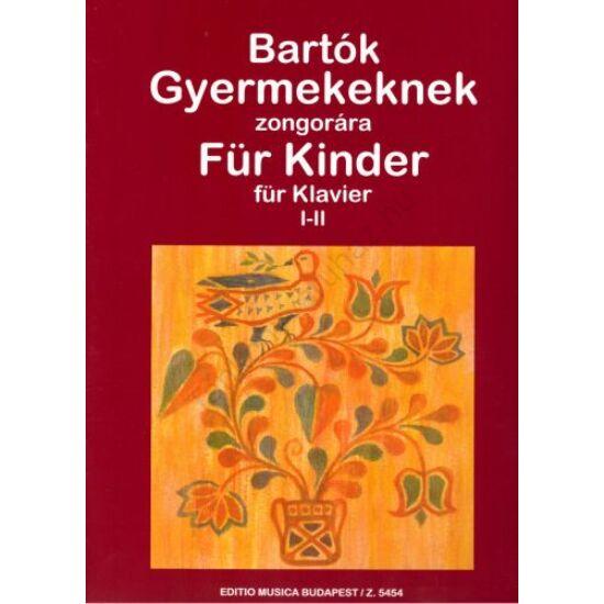 Bartók Béla: Gyermekeknek I-II.