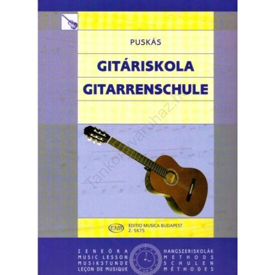 Puskás Tibor: Gitáriskola