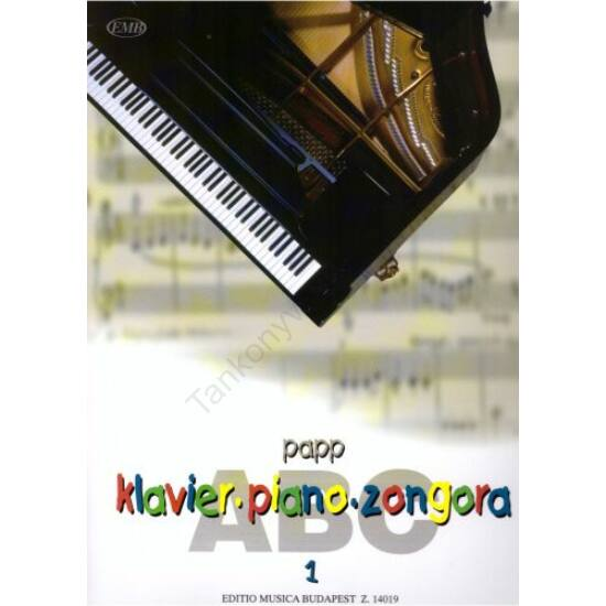 Papp Lajos: Zongora-ABC 1.