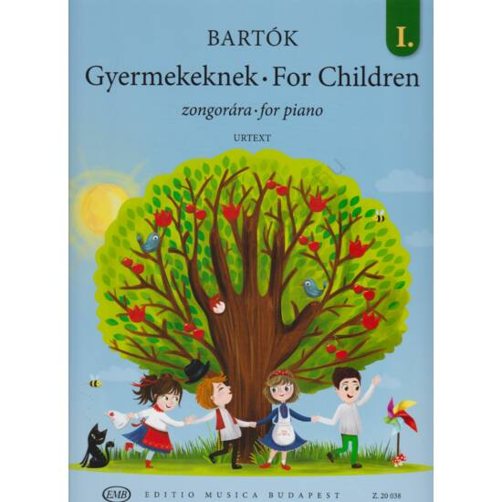 Bartók Béla: Gyermekeknek  I. zongorára (Z. 20 038)
