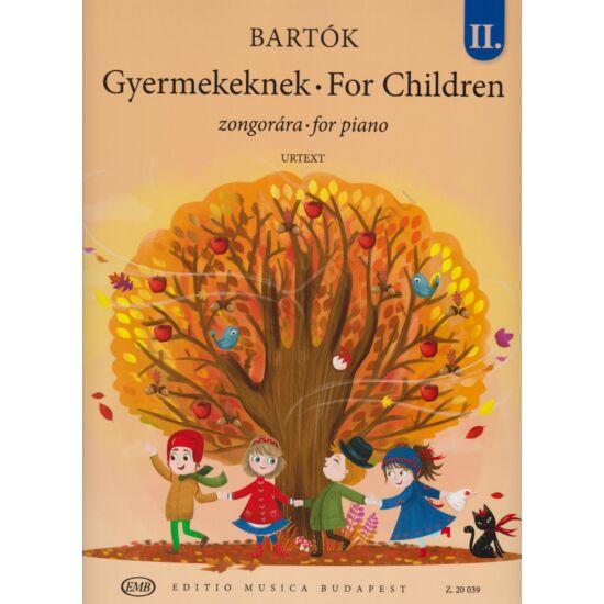 Bartók Béla: Gyermekeknek  II. zongorára (Z. 20 039)