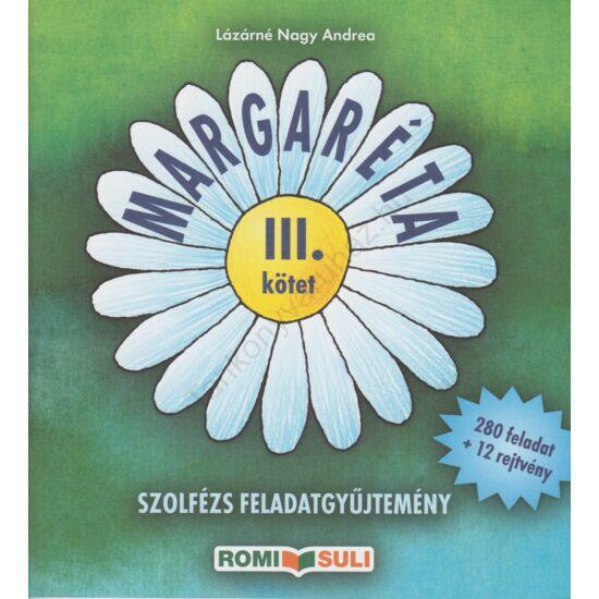 Margaréta III. kötet (RO-M/5-6)