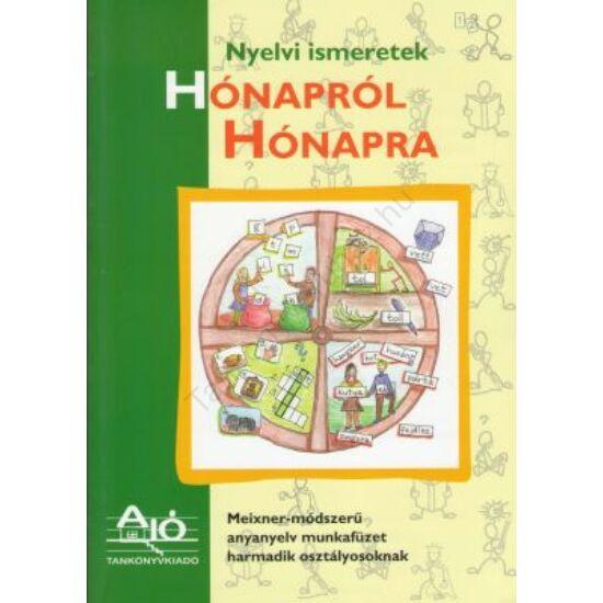 Hónapról hónapra nyelvi ismeretek 3. osztály