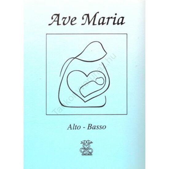Ave Maria - (Alto - Basso)