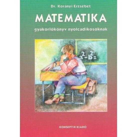 Matematika 8. gyakorlókönyv (KT-0311)