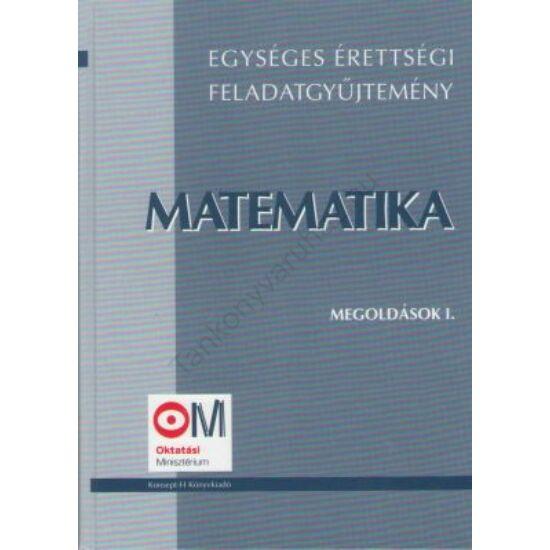 Matematika I.-Megoldások