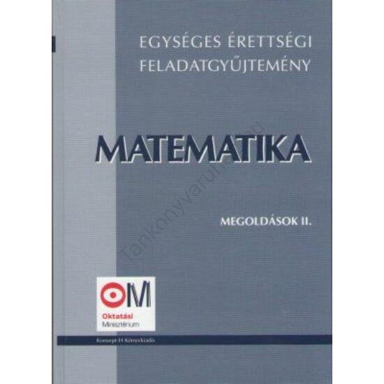 Matematika II.-Megoldások