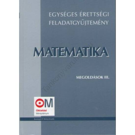 Matematika III.-Megoldások
