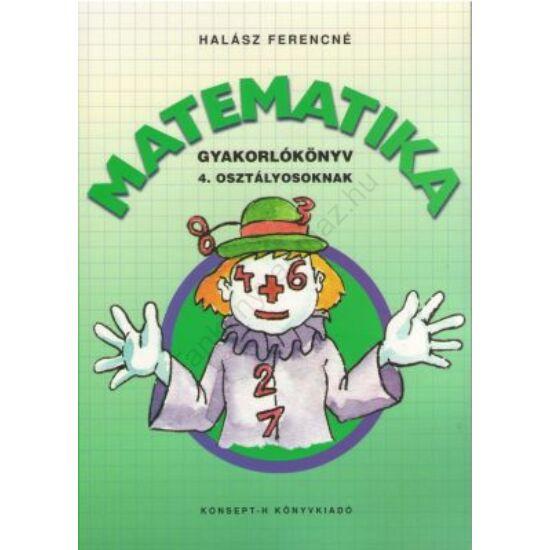 Matematika gyakorlókönyv 4. osztályosoknak (KT-0748)