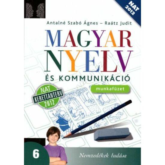 Magyar nyelv és kommunikáció 6. munkafüzet (NT-11631/M)