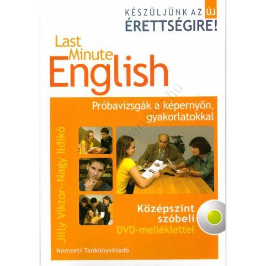 Last Minute English -Középszint szóbeli