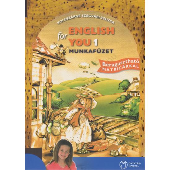 English for You 1. munkafüzet (OH-ANG02M)