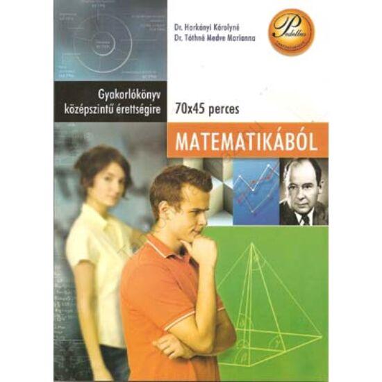 Gyakorlókönyv középszintű érettségire matematikából (PD-268)