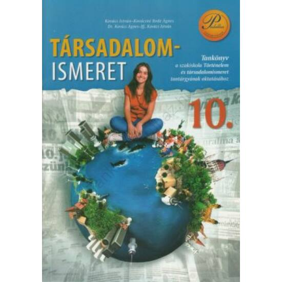 Társadalomismeret 10. tankönyv (PD-395)