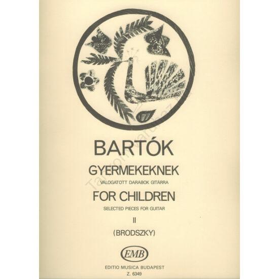 Bartók Béla:Gyermekeknek II.